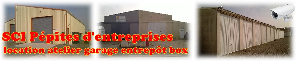 Sci gelot location colocation atelier garage entrepot for Location box garage agde